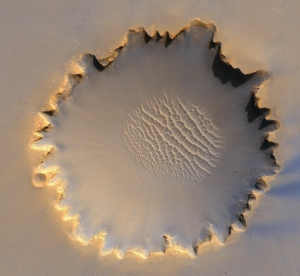 <br>Holoprint in the Victoria Crater on Mars